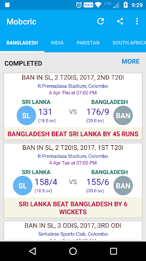 Mobcric - Cricket ODI 2017 1.0 screenshots 2