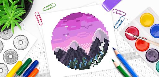 pixel art malen nach zahlen malbuch  apps bei google play