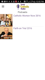 Iowa Catholic Radio- screenshot thumbnail