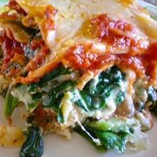 COLD - Spinach Lasagna