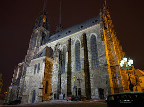 Photo: The Cathedral of St. Peter and Paul, on Petrov hill.