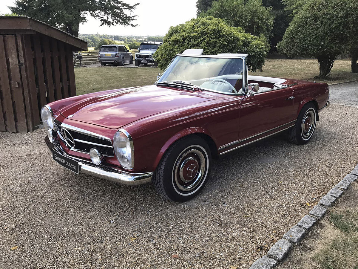 Mercedes-Benz 230 SL Pagoda Hire Epping