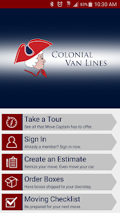 Colonial Van Lines Inc- screenshot thumbnail