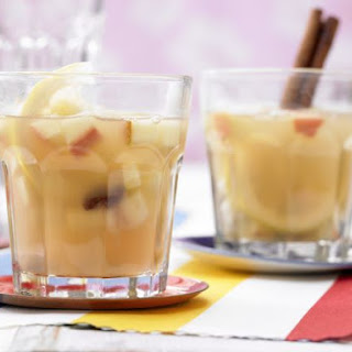 Apple Punch with Raisins.