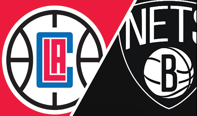 Clippers at Brooklyn Nets