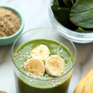 Banana Matcha Smoothie.