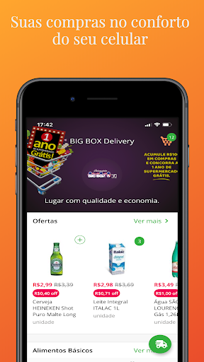 big box delivery screenshot 1