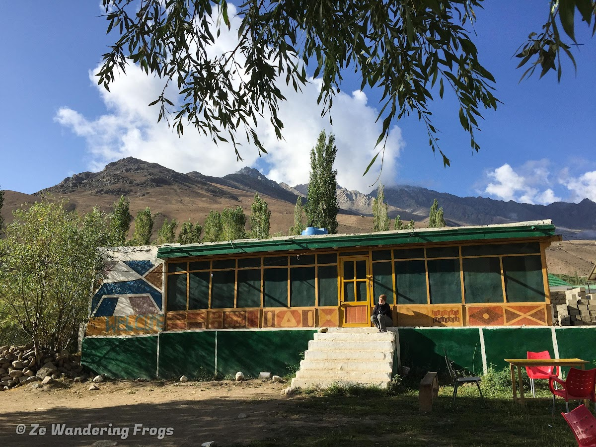 Phander Valley and Shandur National Park of Pakistan // Lake View Budget Guesthouse in Phander Village