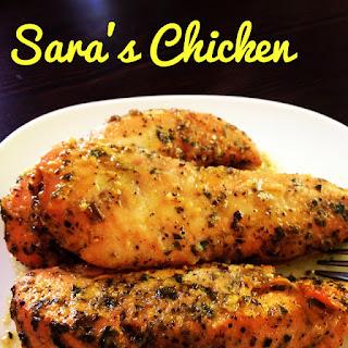 Sara's Chicken AKA Pollo al Horno.