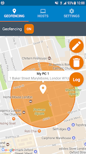 Wake on LAN with Geofencing - náhled