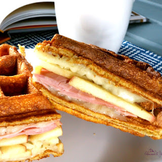 Waffle Sandwich.