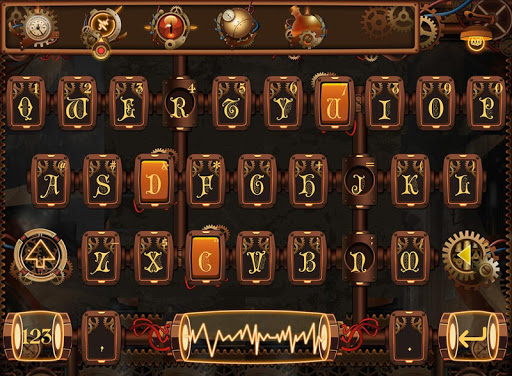 SteamPunk FancyKey Keyboard