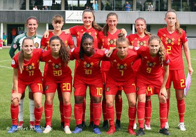 Red Flames U19 kennen hun weg naar het EK 2021 - voorlopig gaat het nog steeds door!