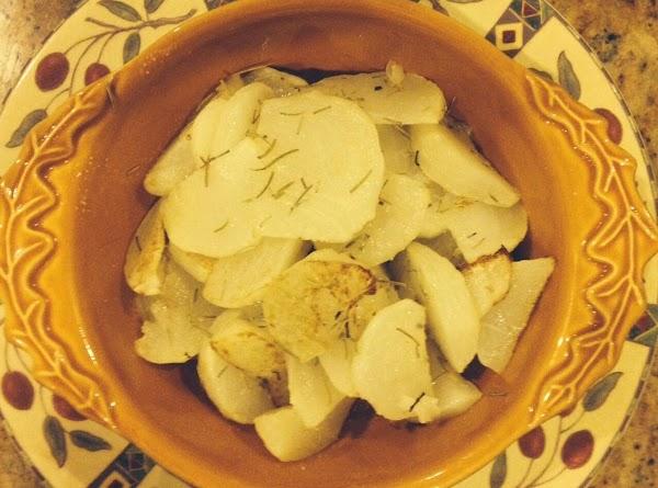 Roasted Turnips With Rosemary Recipe