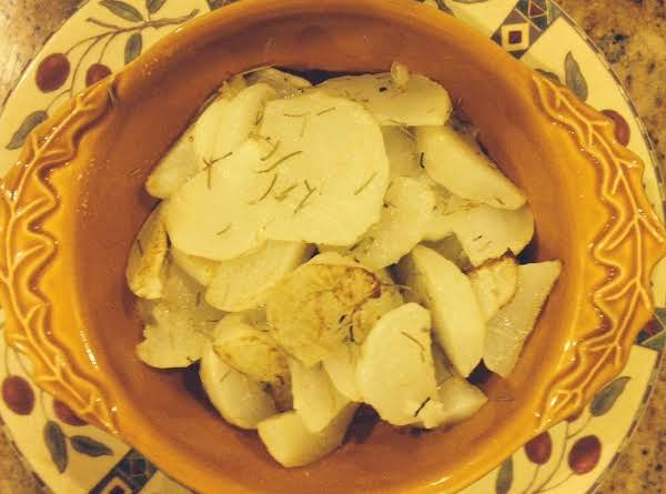 Roasted Turnips With Rosemary