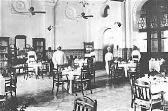 Photo: Interior of Refreshment stall in Egmore railway station