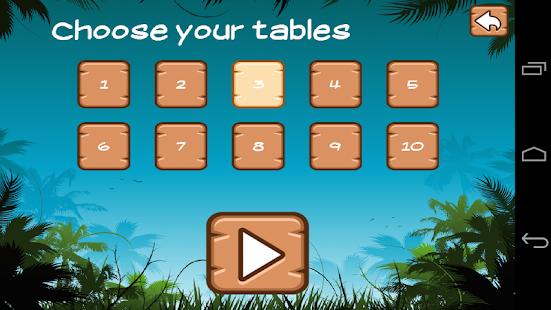 Time Tables screenshot