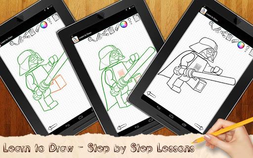 免費家庭片App|学画画乐高星球大战|阿達玩APP