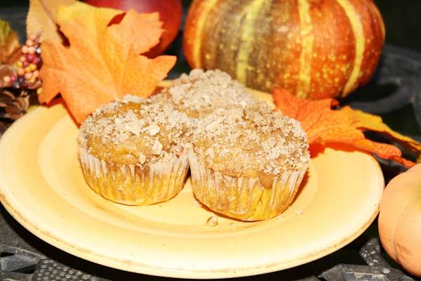 Pumpkin Muffins With Streusel Recipe