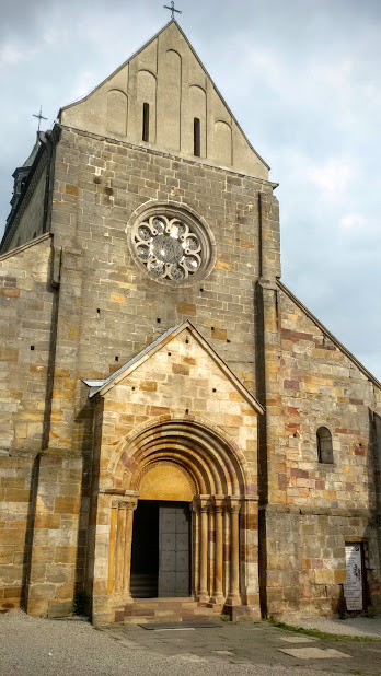 Cistercian church in Sulejów Poland