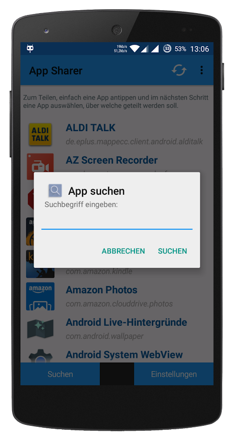 App Sharer- screenshot