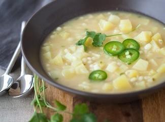 Jalapeno Chicken Rice Soup Recipe