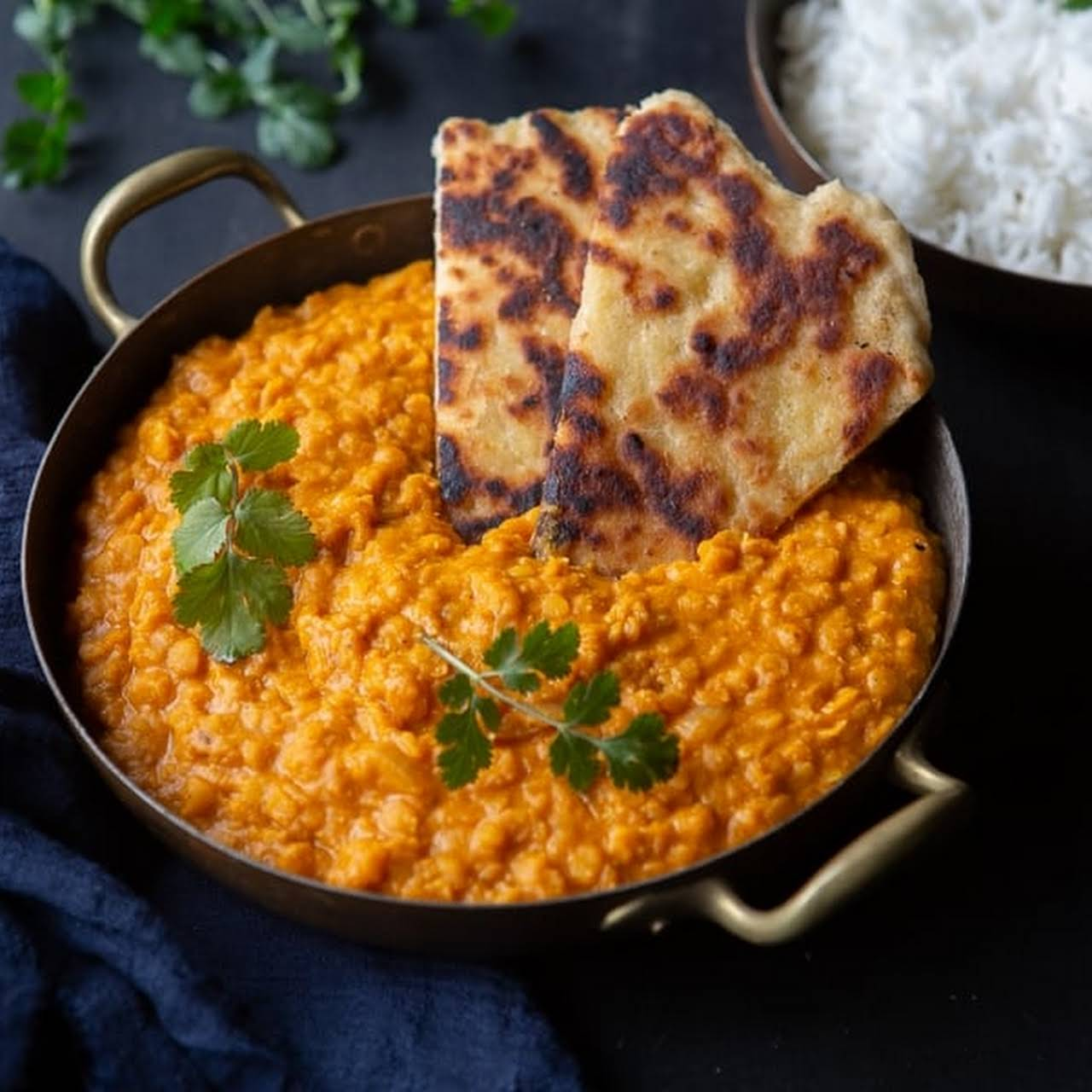 Creamy Red Lentil Curry (Vegan-Friendly)