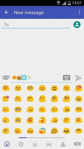 Emoji plugin for KK SMS