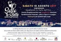 Cinigiano, Calice di Stelle - notte delle stelle cadenti di San Lorenzo