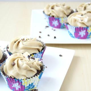 Hazelnut Coconut Cupcakes with Rich Coffee Frosting [Vegan] Recipe