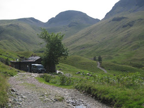 Photo: It leads to Black Sail, the most remote hostel in the UK.