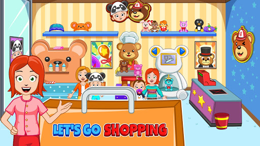 My Town : Shopping Mall Free apklade screenshots 2