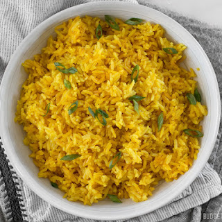 Yellow Jasmine Rice.