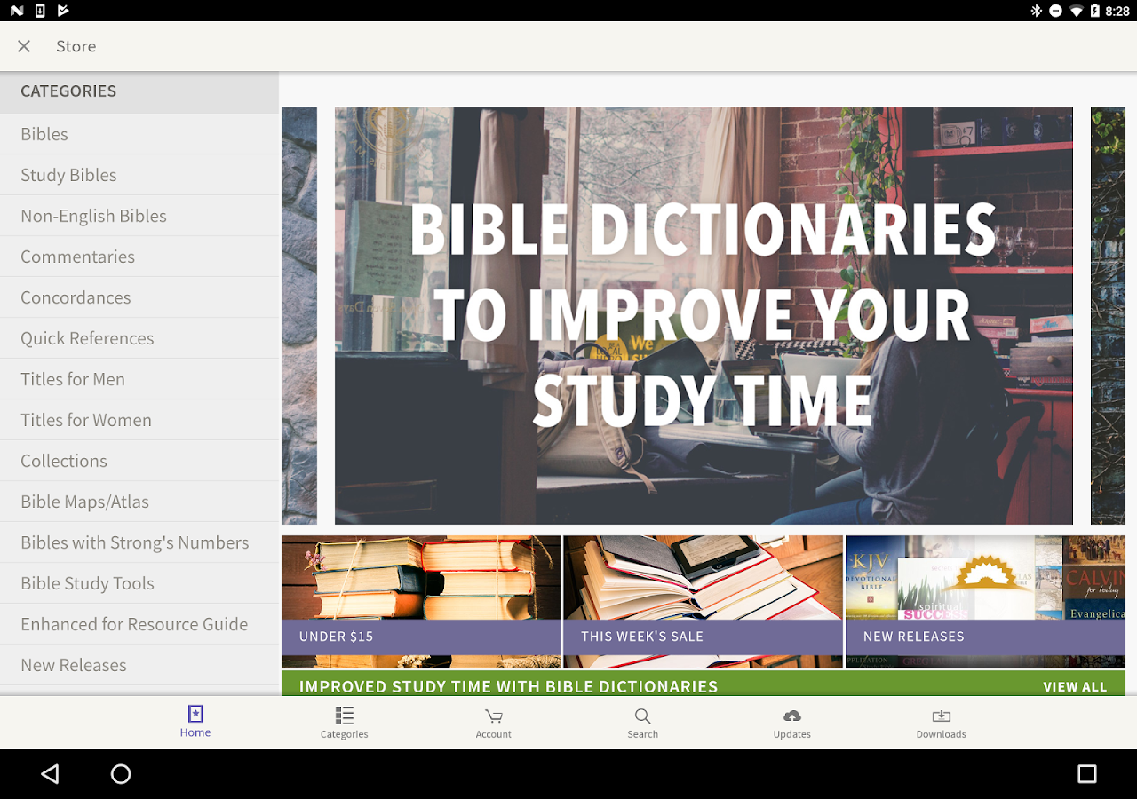 message bible by olive tree android apps on google play