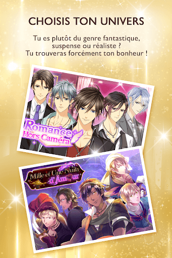 Honey Magazine - Otome game gratuit  captures d'u00e9cran 3
