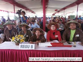 Photo: Tengah: Sdr Suyitno di Final Asah Terampil Gapoktan - Tersono
