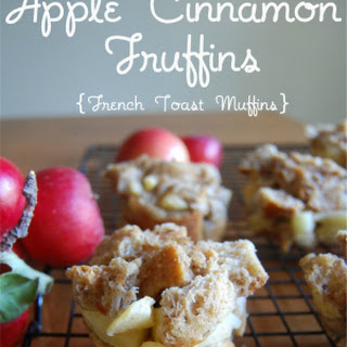 Apple Cinnamon Fruffins {French Toast Muffins}.