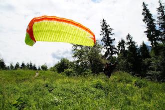 Photo: Perfekter Start bei Westwind, ja den gibt es am Grünberg wirklich.