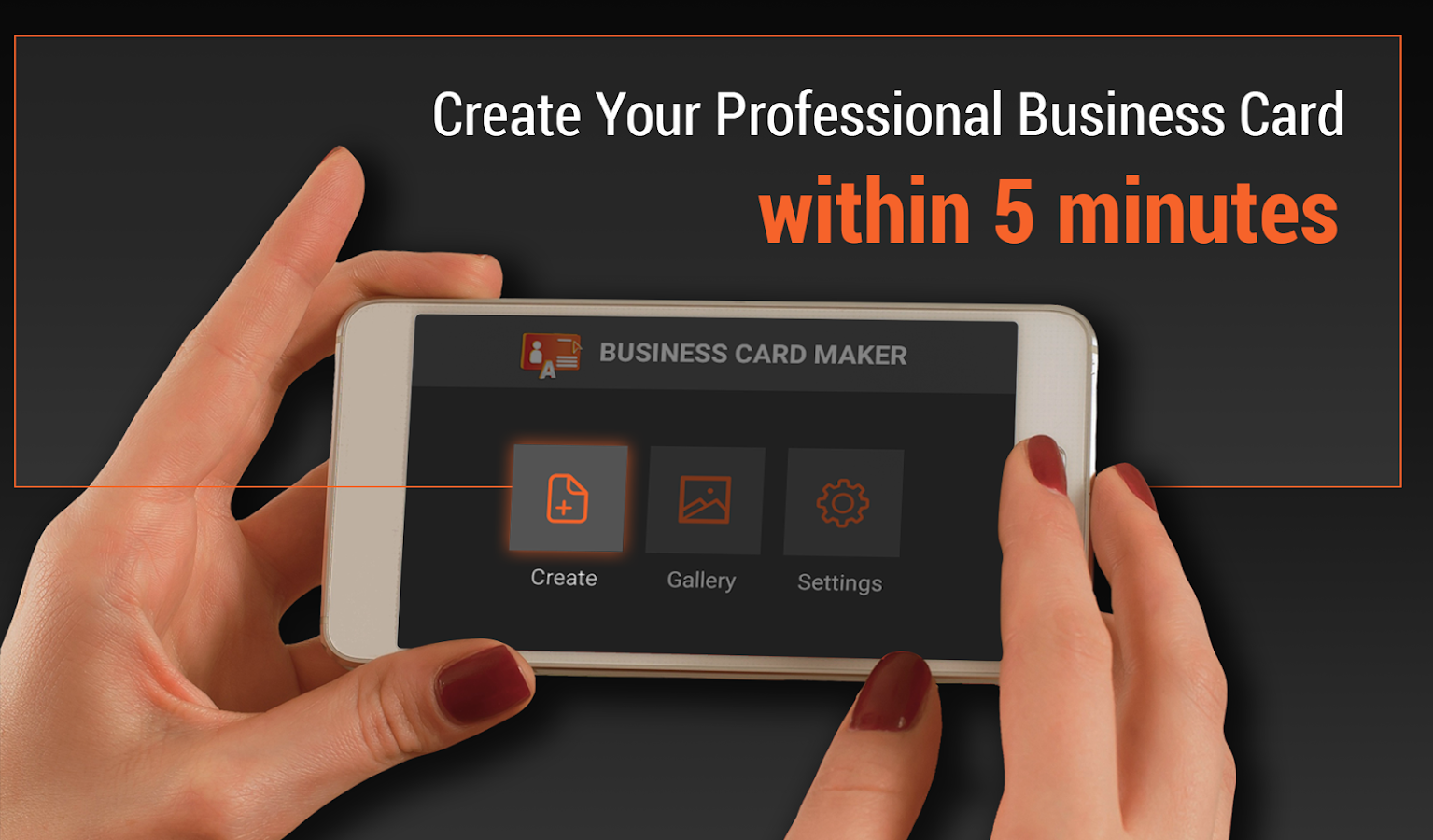 Business card maker android apps on google play business card maker screenshot magicingreecefo Image collections