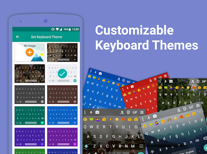 Bobble Indic Keyboard ❤️ Stickers, Ғ◎И†Ⴝ & Themes Screenshot
