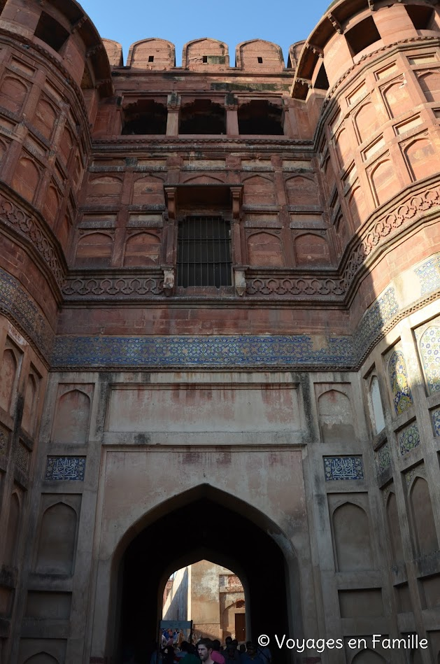 gate, agra fort