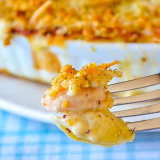 Seafood Shells and Cheese.