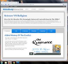 Photo: [image: Science VS Religion]