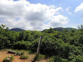 冠岳から丈競山と浄法寺山