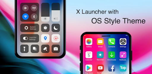 Image result for iLauncher for OS 11 - Stylish Theme and Wallpaper apk