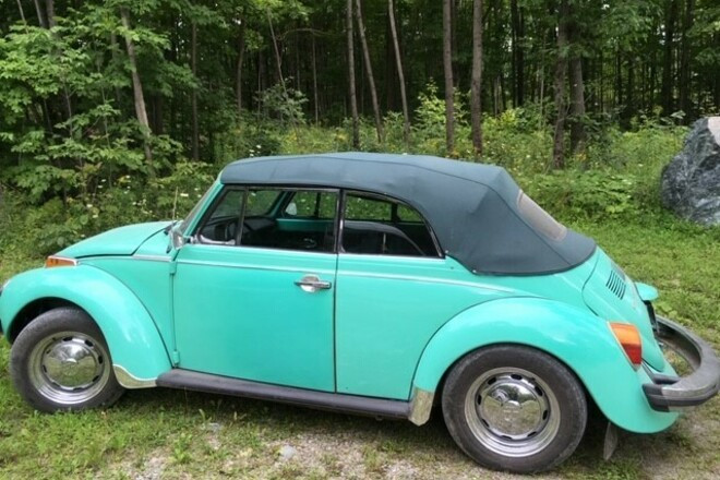 1976 VW Convertible Hire PA