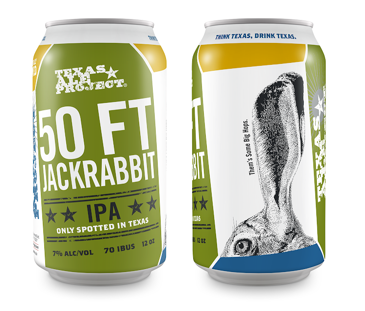 Logo of Texas Ale Project 50 FT Jackrabbit