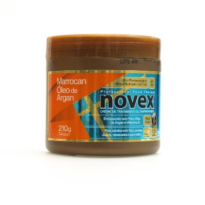 baño de crema novex oleo argan hidrat prof 210gr