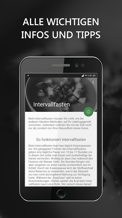Intervallfasten- screenshot