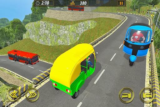 Tuk Tuk Taxi Sim 2020: Free Rickshaw Driving Games screenshots 3